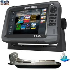 Lowrance HDS-7 Gen3 Insight with TotalScan Transducer Plus StructureScan® HD