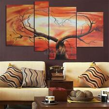 4Pcs Love Tree Modern Home Decor Wall Art Print Painting Canvas Picture Unframed