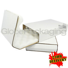"100 MEDIUM STRONG SHELL AND SLIDE THICK FOAM LINED BOXES 279x181x51mm (11x7x2"")"