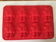 Robot  Silicone Cake Mould Chocolate Fondant