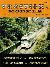 Traction & Models Magazine : June 1974 : Cosmopolitans - O Gauge Layouts
