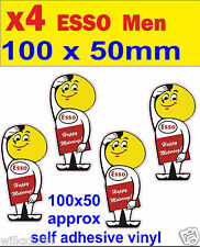 ESSO OIL DROP MAN rally race car classic decal van mini bus truck bicke sticker