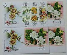 Melaka K Kangsar KL Tg Bungah Melor Lbk China Scented Flowers Malaysia FDC 2016