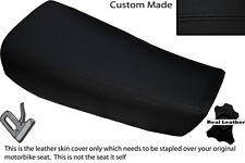 BLACK STITCH CUSTOM FITS HUSQVARNA CR 250 430 500 1983 ALLY TANK LTHR SEAT COVER