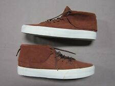 VANS MENS SK8 MID MOC PIG SUEDE TORTOISE SHELL BROWN SNEAKERS SHOES SIZE 11 NEW