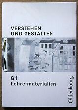 Verstehen und Gestalten G 1 Lehrermaterialien / Lehrerhandbuch mit CD-ROM NEU!!