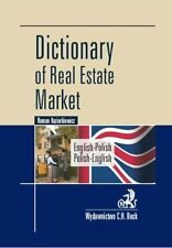 Dictionary of Real Estate Market. English-Polish, Polish-English - POLISH BOOK