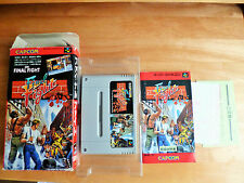 FINAL FIGHT 1 SUPER FAMICOM SNES NTSC JAPAN