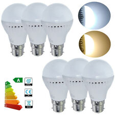6pcs B22 BC 3W LED Globe Ball Bulbs Light Warm White Spotlight Energy Save Lamp