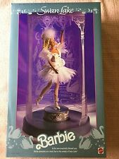 Swan Lake ~ BARBIE Musical Ballerina Doll #1648 Mattel + shipper box