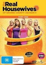 THE REAL HOUSEWIVES OF ORANGE COUNTY : SEASON 4 part 1 - DVD - UK Compatible
