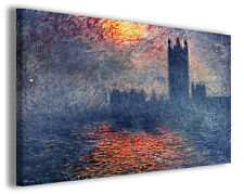 Quadro moderno Claude Monet vol V stampa su tela canvas pittori famosi