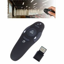 Useful Wireless Presenter with Red Laser Pointers Pen Remote Control PPT