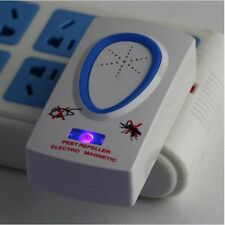 US Ultrasonic Electronic Repellent Pest Mouse Bug Mosquito Repeller FE