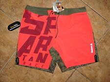 Men's Reebok Spartan Race Fitness Athletic Workout Jogging Shorts XL