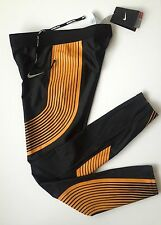 Nouveau nike power speed dri fit running compression collants rester au chaud petit rrp £ 105