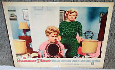 A SUMMER PLACE 11x14 SANDRA DEE/CONSTANCE FORD orig 1959 lobby card movie poster