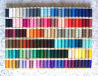 150 Different colors GUTERMANN 100% polyester sew-all thread 110 yard spools