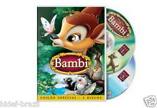 Bambi 2-Disc Special Edition Disney DVD [ English + Spanish + Portuguese ]