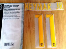 Kids 2015-17 NEYMAR JR#11 La Liga Home Shirt OFFICIAL SportingiD Name Number Set