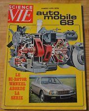 Science et Vie HS l'automobile, 1967, 208 p., modèles 1968, bon état