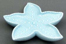 "Starfish Ceramic Dish Candy, Soap, Trinkets Wall Decor 9 1/2"" W. Nautical"