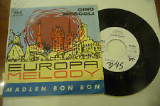 "GINO MESCOLI""EUROPA MELODY-disco 45 giri STYLE It 1964"""