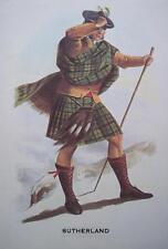 Clan Sutherland - Scottish Tartan Art Print - MATTED