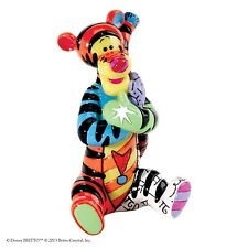 Disney by Romero Britto Tigger Mini Figurine Ornament Figure 7.5cm 4026297