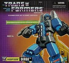 NEW - SEALED - TRANSFORMERS G1 GENERATION 1 - DECEPTICON DIRGE TRU REISSUE - BIN