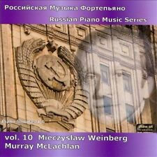 Russian Piano Music Series: Mieczyslaw Weinberg CD NEW