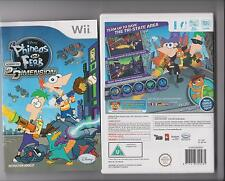 PHINEAS AND FERB ACROSS THE 2ND DIMENSION NINTENDO WII