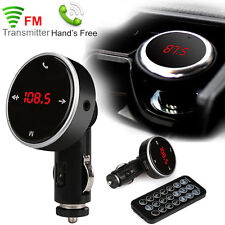 Bluetooth Car Kit Wireless FM Transmitter Modulator SD USB Charger MP3 Player