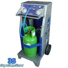 3S STAZIONE RECUPERO RECUPERATORE GAS REFRIGERANTE R134A R1234YF CLIMA AUTO New