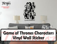 Game of Thrones Characters Vinyl Wall Sticker