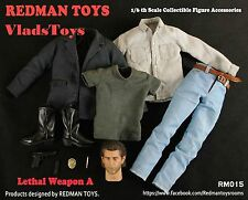 REDMAN TOYS 1/6 Lethal Weapon Clothing Accessory Set A Mel Gibson RM015 USA Deal