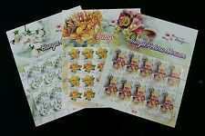 Malaysia Scented Flowers II 2016 Plant Flora (sheetlet 3's) MNH