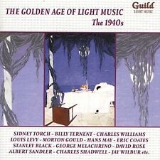 The Golden Age of Light Music: The 1940's New CD