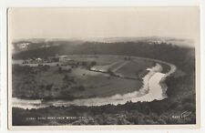 Herefordshire, Horseshoe Bend from The Wyndcliffe RP Postcard, A828