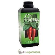 CHILLI FOCUS SPECIFIC PLANT NUTRIENTS 1L HYDROPONICS HOUSE PLANT CARE