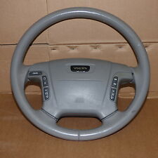 STEERING WHEEL WITH AIR BAG AND RADIO CONTROLS GREY VOLVO 1998 - 2006 T6 S80