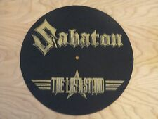 SABATON - THE LAST STAND LOGO (NEW) TT SLIPMAT OFFICIAL BAND MERCHANDISE