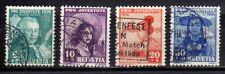 SVIZZERA SWISS SCHWEIZ 1938 Pro Juventute USATI