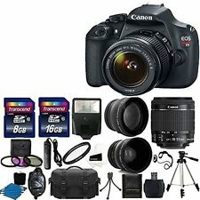 Canon EOS Rebel T5 DSLR Digital Camera, Lens & Accessories - Imported