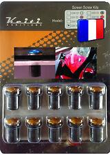 KIT BULLE 10 BOULONS COULEUR OR WR WRF WX XJ XJ6 XJR XT