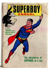 THE SUPERBOY ANNUAL 1967 / GOOD / UNCLIPPED / BOBO THE DETECTIVE CHIMP.