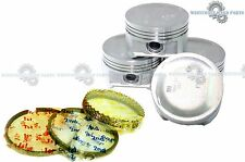 01-05 HONDA Civic 1.7L D17A1 AFTERMARKET Pistons and Rings Set BRAND NEW