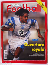 France Football du 6/08/1996; Om-Lyon ouverture royale/ Papin le Girondin/