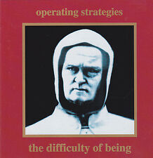 Operating Strategies-the difficulty of being (CD 1992) Danse Macabre Records!