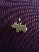 Radley DOG TAG / Charm shiney GOLD Radley timbrato in esso